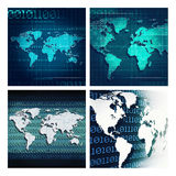 Abstract techno backgrounds Stock Photos
