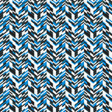 Abstract techno chevron pattern Royalty Free Stock Photos