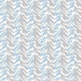 Abstract techno chevron pattern. Vector geometric seamless chevron pattern with zigzag line and overlapping stripes in grey colors. Striped bold print in hipster royalty free illustration