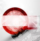 Abstract techno circle vector background Stock Photography