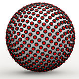 Abstract Techno Sphere Stock Image