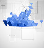 Abstract technolgy business concept Royalty Free Stock Images