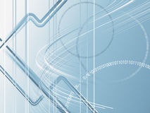 Abstract technological backdrop Royalty Free Stock Photography