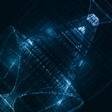 Abstract technological background Stock Photography