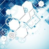 Abstract technological background Royalty Free Stock Image
