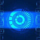 Abstract technological background Royalty Free Stock Images