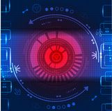 Abstract technological background Stock Photos
