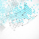 Abstract technological background. Royalty Free Stock Photos