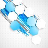 Abstract technological background Royalty Free Stock Photos