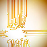 Abstract technological background Royalty Free Stock Photography