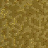 Abstract technological hexagonal background. 3D render. Abstract futuristic technological hexagonal background. 3D rendering stock illustration