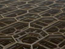 Abstract Technological Structure Royalty Free Stock Image