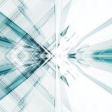Abstract technologiebinnenland het 3d teruggeven Royalty-vrije Illustratie