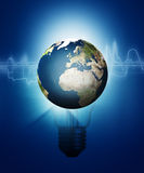 Abstract Technology And Environment Backgrounds Stock Image