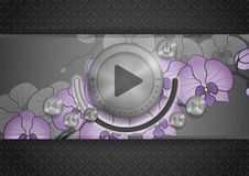 Abstract Technology App Icon Royalty Free Stock Images