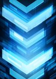 Abstract technology arrows Stock Images