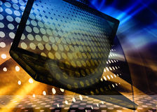 Abstract technology background. Fantastic technology background, abstract laptop Stock Images