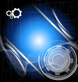 Abstract technology background. For your text Royalty Free Stock Photo