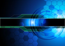 Abstract technology background. For your text Stock Photos