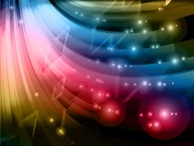 Abstract technology background, royalty free illustration