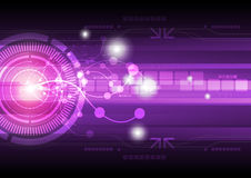 Abstract technology background. Illustration abstract technology background design Royalty Free Stock Image