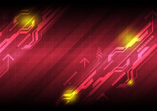 Abstract technology background. Illustration abstract technology background design Stock Photography