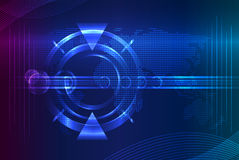 Abstract technology background. Royalty Free Stock Photos