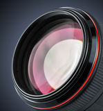 Professional camera lens Royalty Free Stock Photos