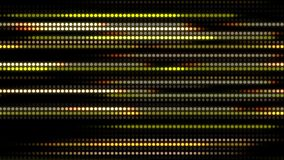 Abstract technology background with animation slow motion of light stripes dot circle Yellow. And Animation of data transferring or computer`s data files stock video