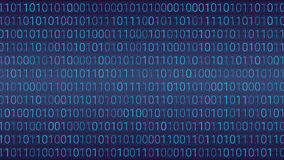 Abstract Technology Background. Binary Computer Code. Vector Ill Stock Photos