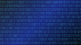 Abstract Technology Background. Binary Computer Code. Vector Ill Stock Images