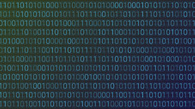 Abstract Technology Background. Binary Computer Code. Vector Ill Royalty Free Stock Images