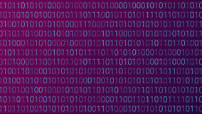 Abstract Technology Background. Binary Computer Code. Vector Ill Stock Photo