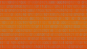 Abstract Technology Background. Binary Computer Code. Vector Ill. Ustration Royalty Free Stock Photo