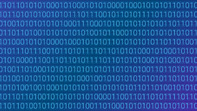 Abstract Technology Background. Binary Computer Code. Vector Ill. Ustration Stock Images