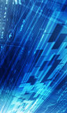 Abstract Technology Background blue Stock Photo