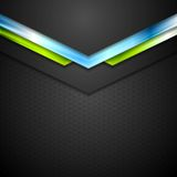 Abstract technology background with blue green Royalty Free Stock Photos