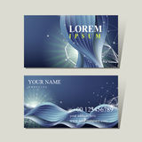 Abstract technology background for business card Stock Photo