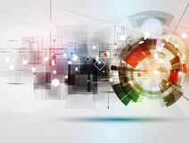 Abstract technology background Business & development direction Royalty Free Stock Photos