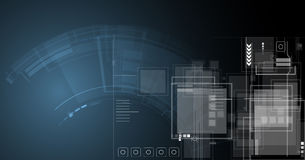 Abstract technology background Business & development direction Royalty Free Stock Photography