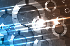 Abstract technology background Business & development direction Stock Image