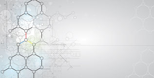Abstract technology background Business & development direction Stock Photography