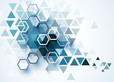 Abstract technology background Business & development direction Stock Photo