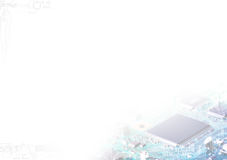 Abstract technology background. Background can use the Internet, print advertising and design Stock Photography