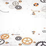 Abstract technology background. Stock Image