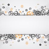 Abstract technology background. Stock Images