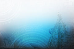 Abstract technology background. Abstract technology communication for background Stock Image