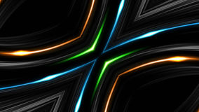 Abstract Technology Background, Computer Graphics, Cyberspace Cable. 10 vector illustration