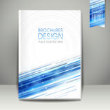 Abstract technology background design for book cover Stock Photography