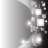Abstract technology background design vector. Illustration Stock Photography
